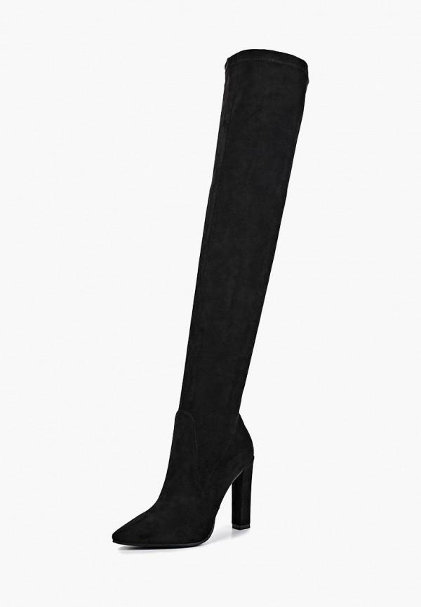 Ботфорты Velvet Velvet VE002AWCWWZ4 flower embroidered velvet high heeled boots