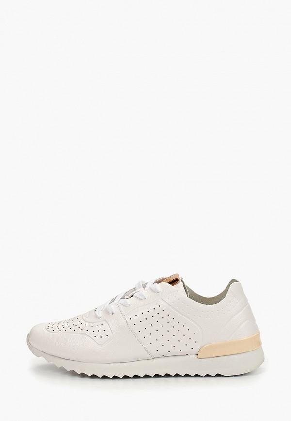 женские кроссовки calipso, белые