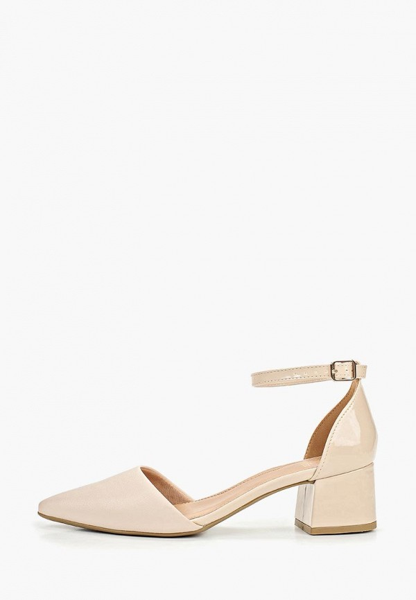 женские туфли velvet, бежевые