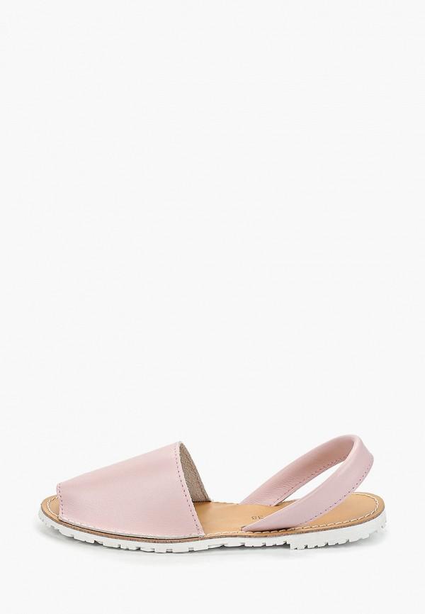 женские сандалии velvet, розовые