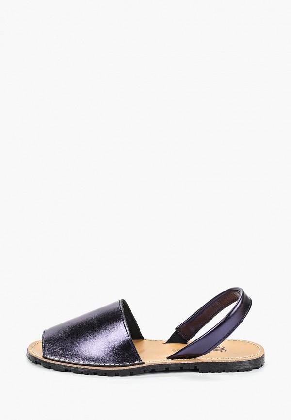 женские сандалии velvet, синие