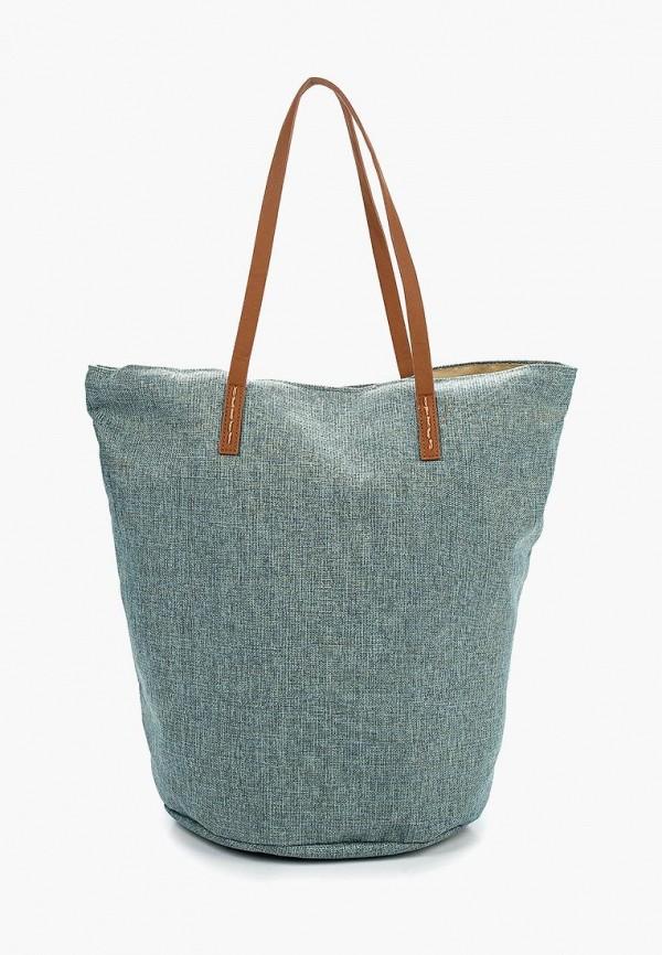 женская сумка venera, голубая