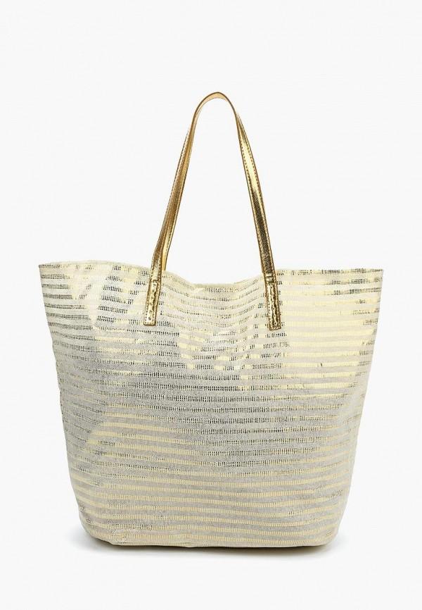 женская сумка venera, золотая