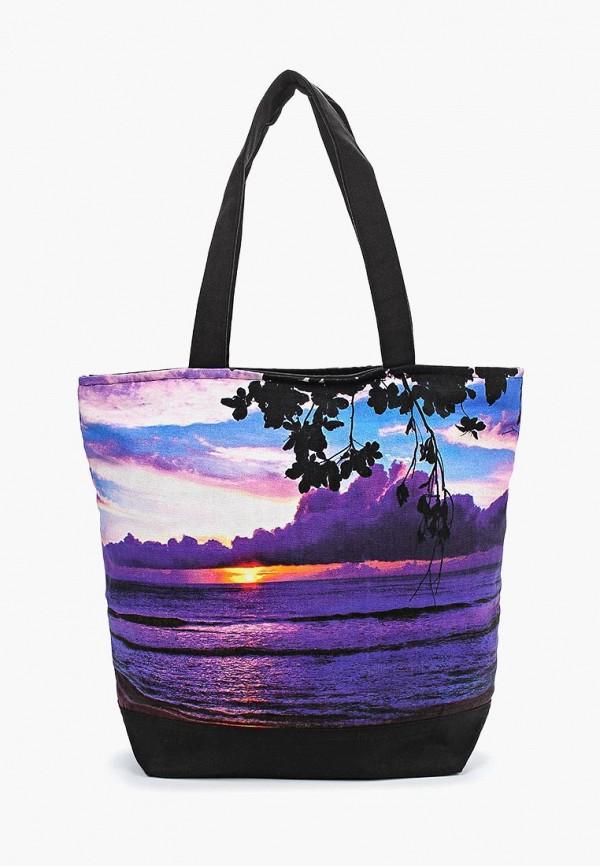 женская сумка venera, фиолетовая