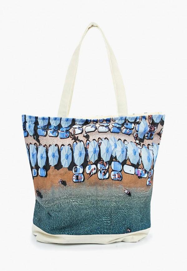 женская сумка venera, синяя