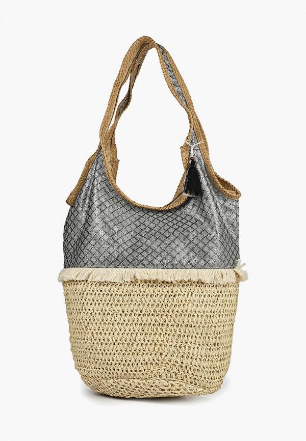 женская сумка venera, бежевая