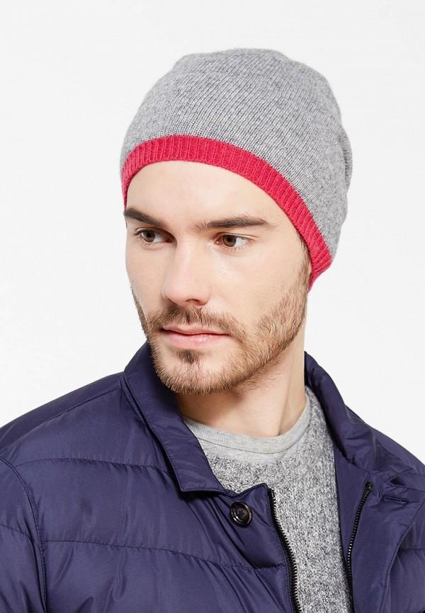 Фото 6 - мужскую шапку Venera серого цвета