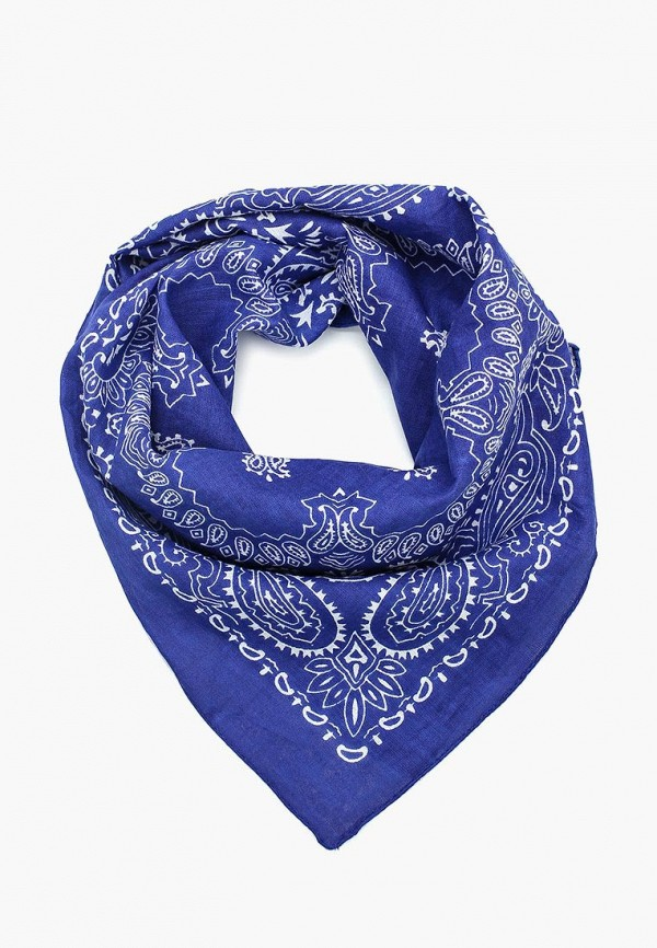 женский платок venera, синий