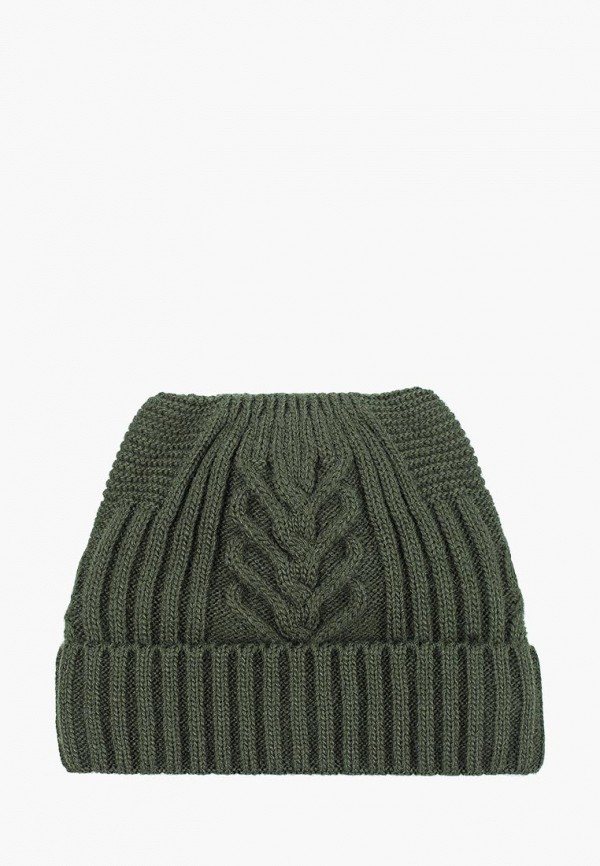 женская шапка venera, зеленая