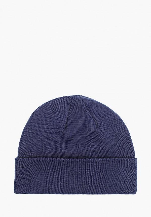 женская шапка venera, синяя