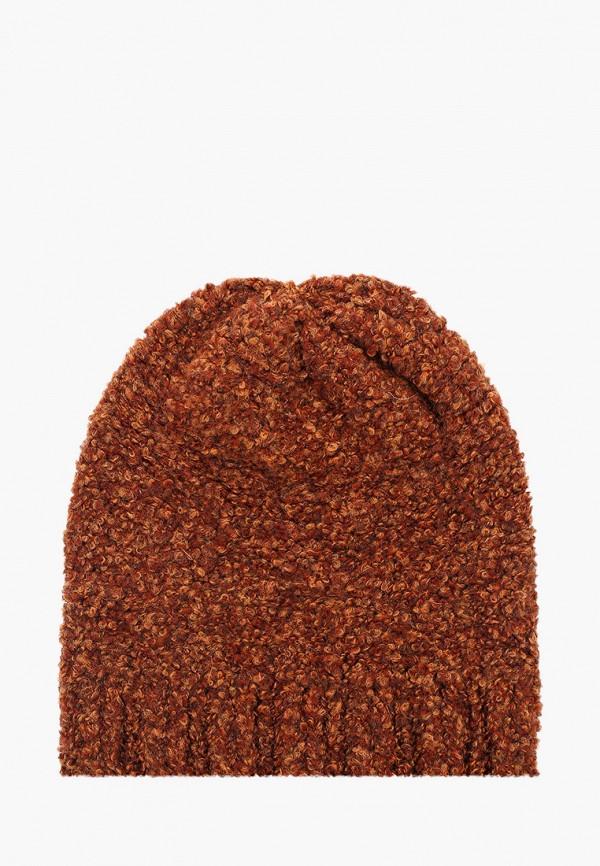 женская шапка venera, оранжевая