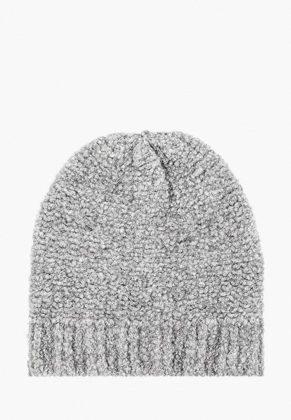 женская шапка venera, серая