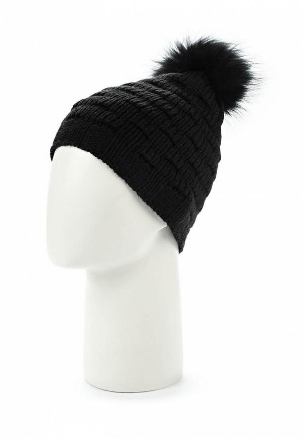 Фото 2 - женскую шапку Venera черного цвета