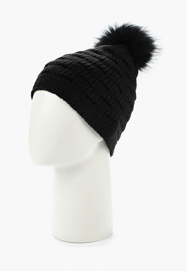 Фото 7 - женскую шапку Venera черного цвета