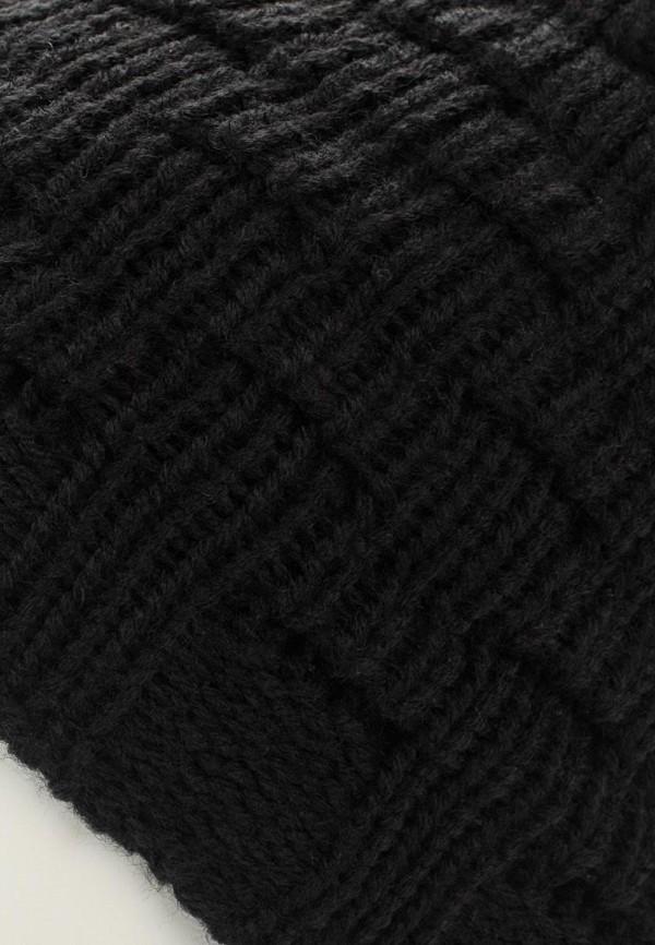 Фото 4 - женскую шапку Venera черного цвета