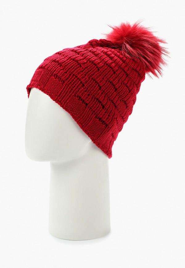 Фото 2 - женскую шапку Venera красного цвета