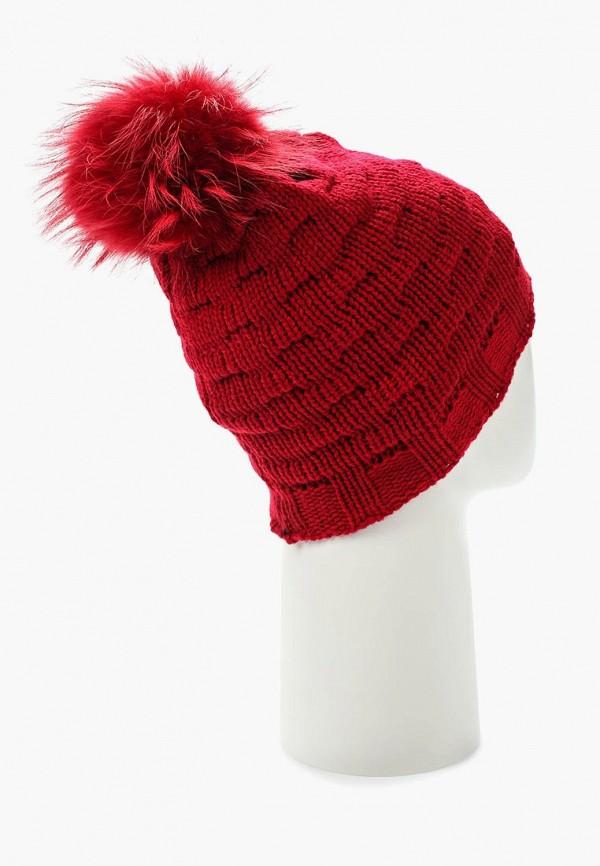 Фото 3 - женскую шапку Venera красного цвета