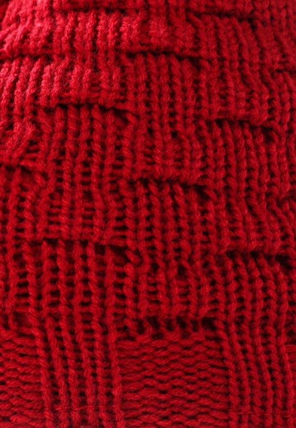 Фото 4 - женскую шапку Venera красного цвета