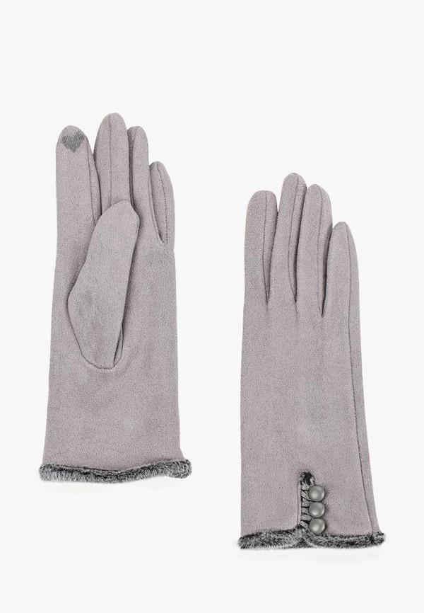 женские перчатки venera, серые