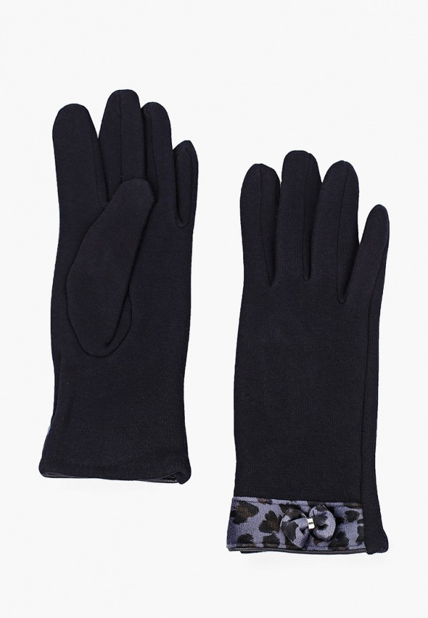 женские перчатки venera, синие