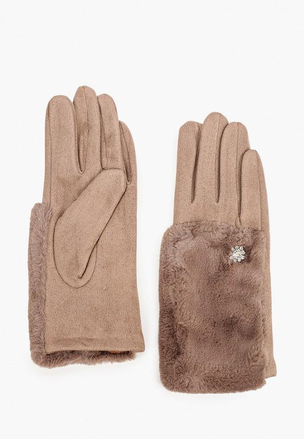 женские перчатки venera, бежевые