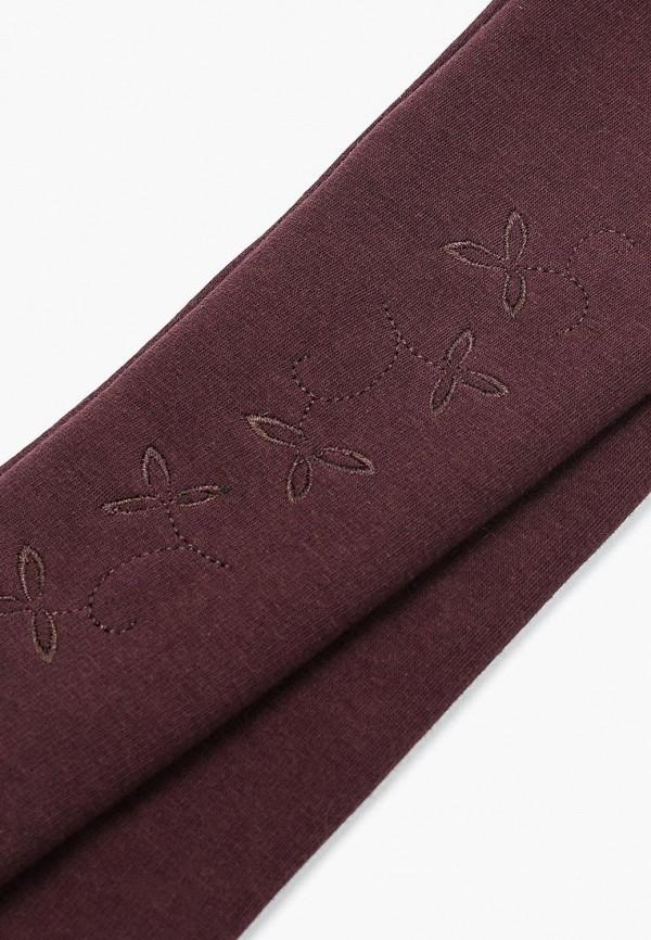 Фото 4 - женские текстильные перчатки Venera коричневого цвета