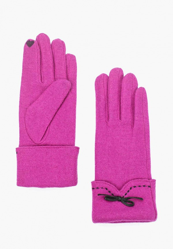 женские перчатки venera, розовые