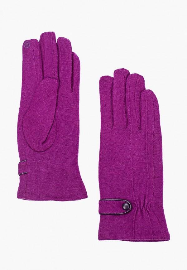женские перчатки venera, фиолетовые