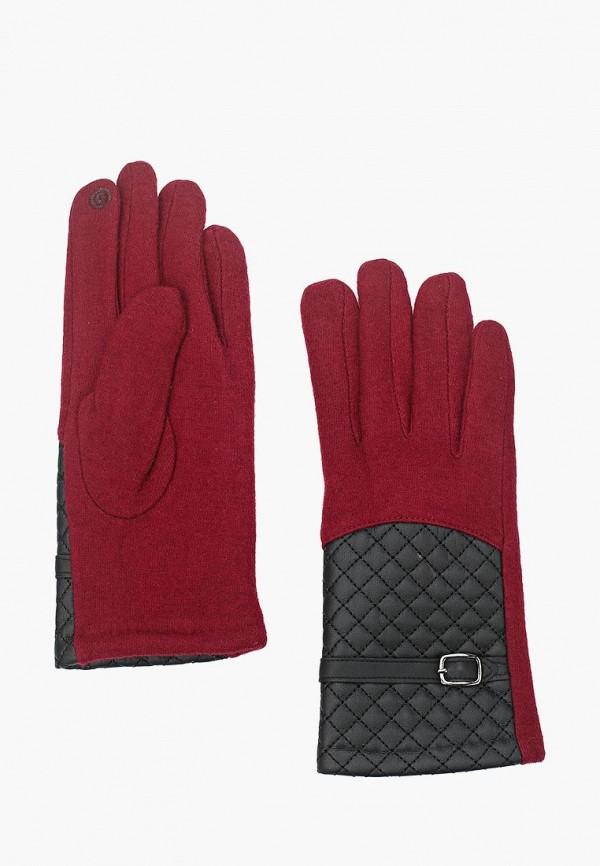 Фото - женские текстильные перчатки Venera бордового цвета