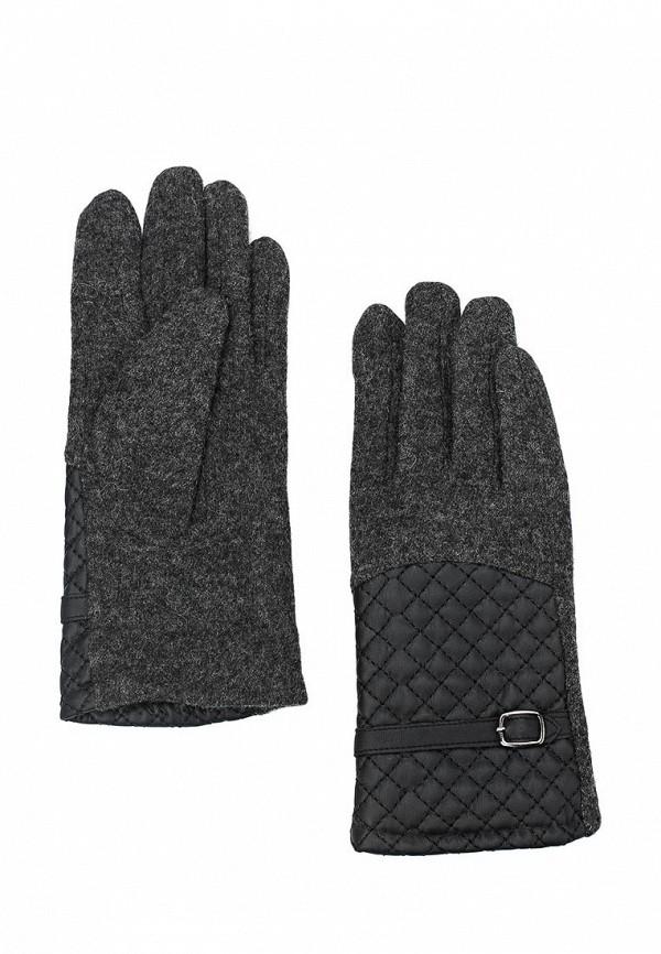 Фото 3 - женские текстильные перчатки Venera серого цвета