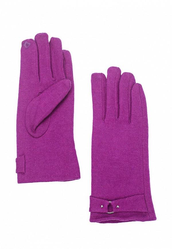 Фото - женские текстильные перчатки Venera фиолетового цвета