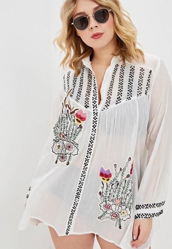 женское платье venera, белое