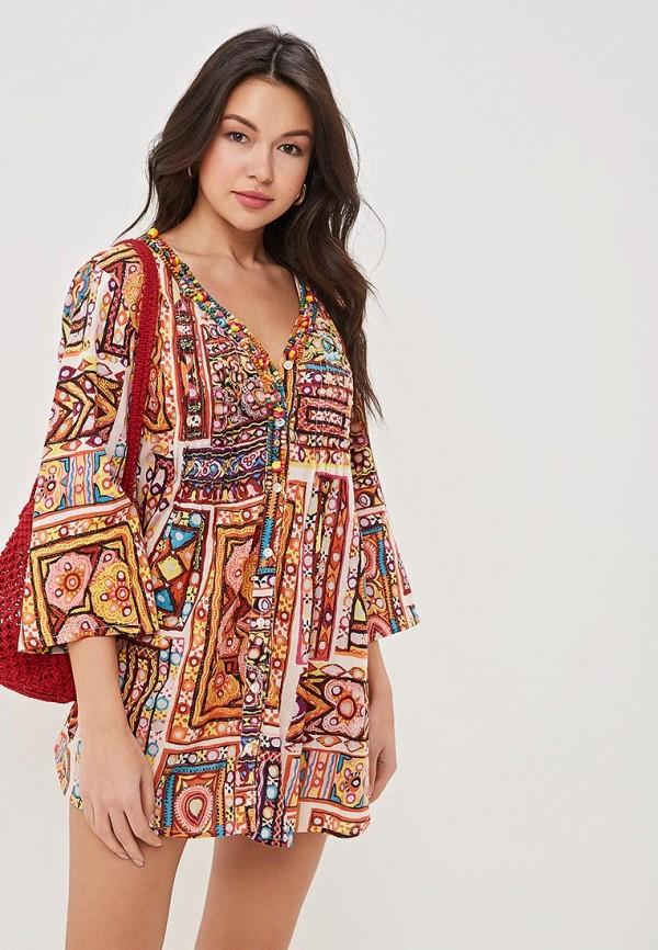женское платье venera, разноцветное