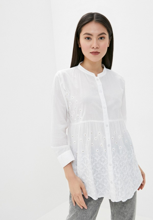 женская блузка venera, белая