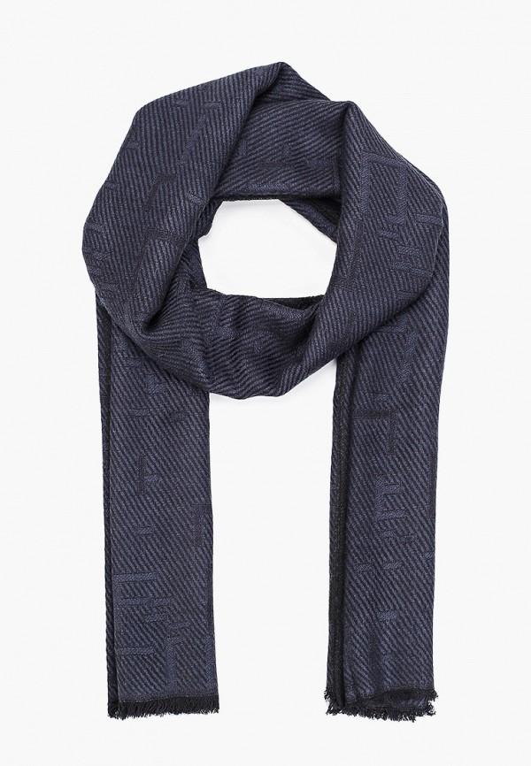 мужской шарф venera, синий