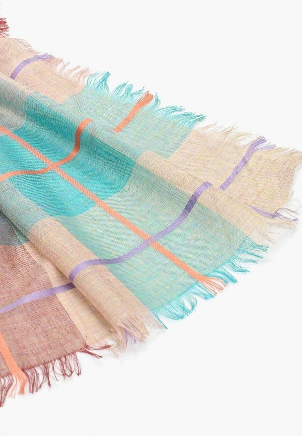 Фото 2 - женский платок Venera разноцветного цвета