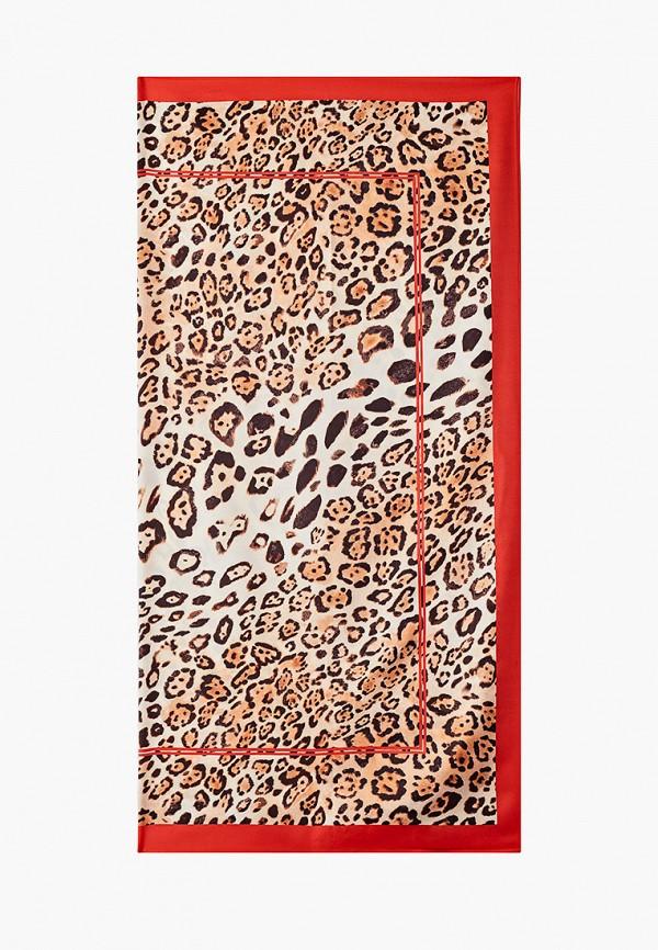 женский платок venera, красный