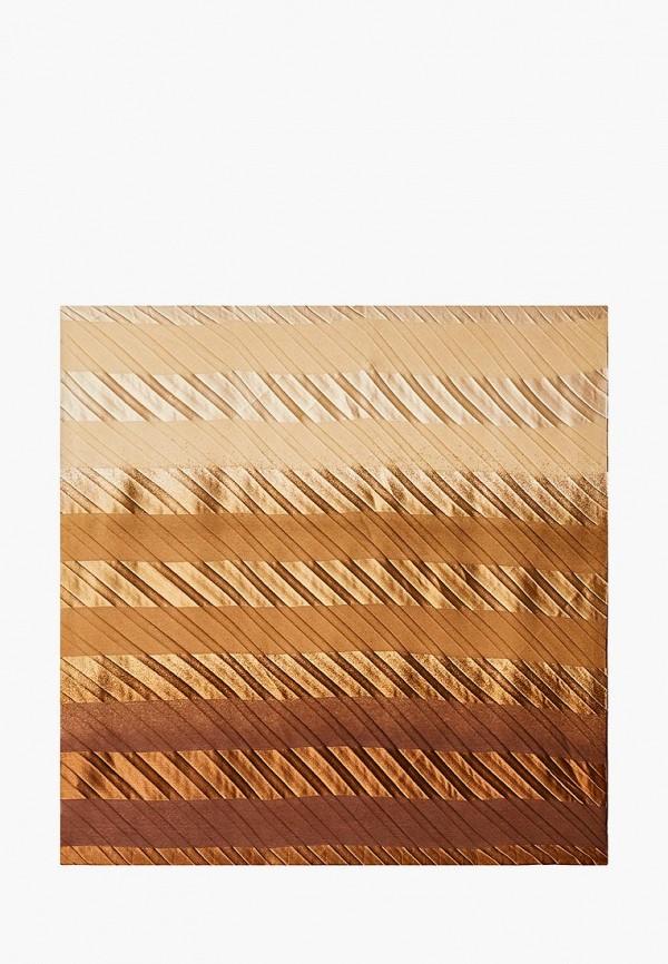 женский платок venera, коричневый