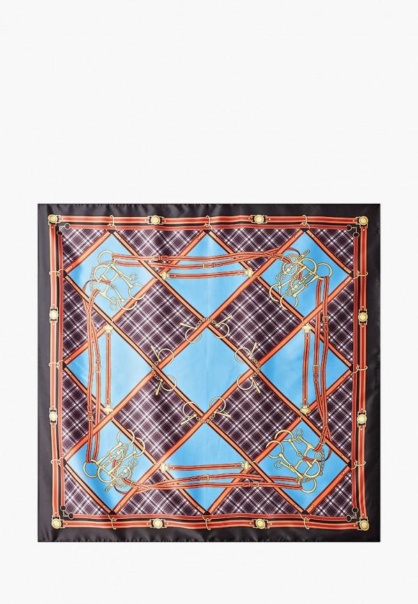 женский платок venera, голубой