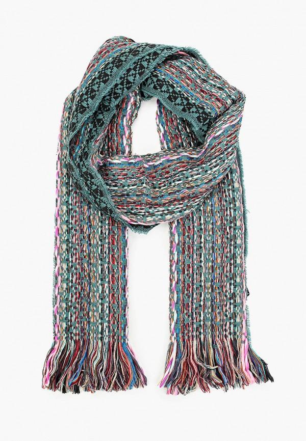 женский шарф venera, зеленый