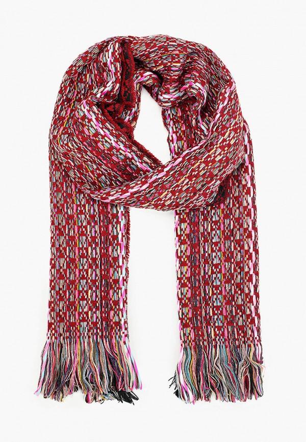 женский шарф venera, красный