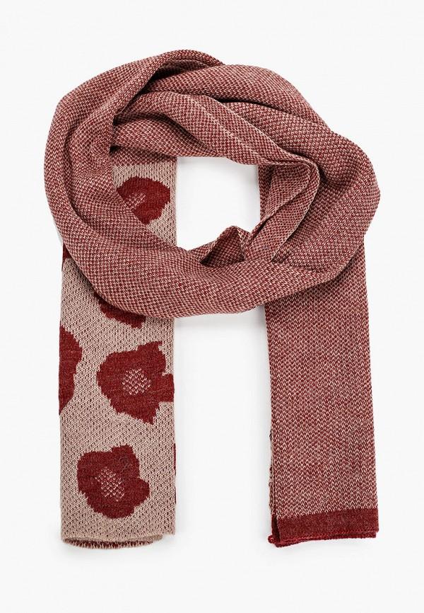 женский шарф venera, розовый
