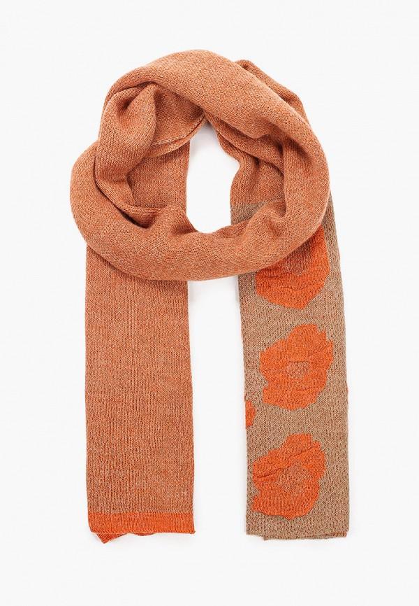 женский шарф venera, оранжевый