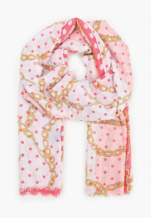 женский палантин venera, розовый