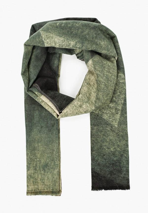 женский палантин venera, зеленый