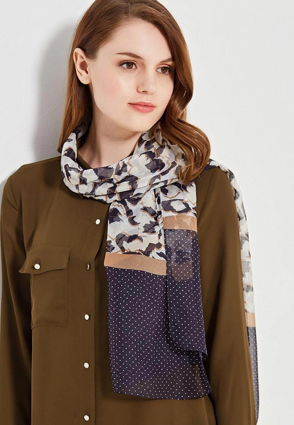 Фото 6 - женский шарф Venera разноцветного цвета