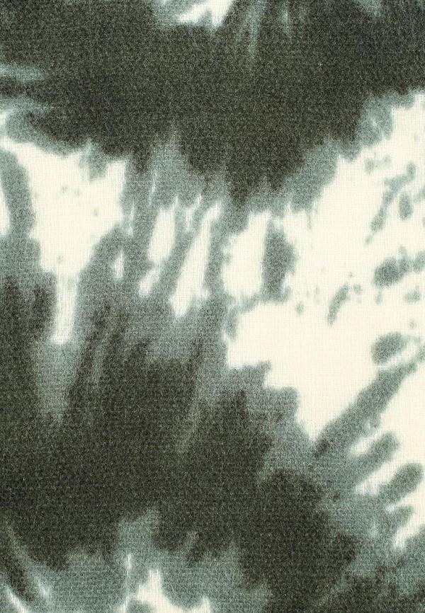 Фото 5 - женский палантин Venera зеленого цвета
