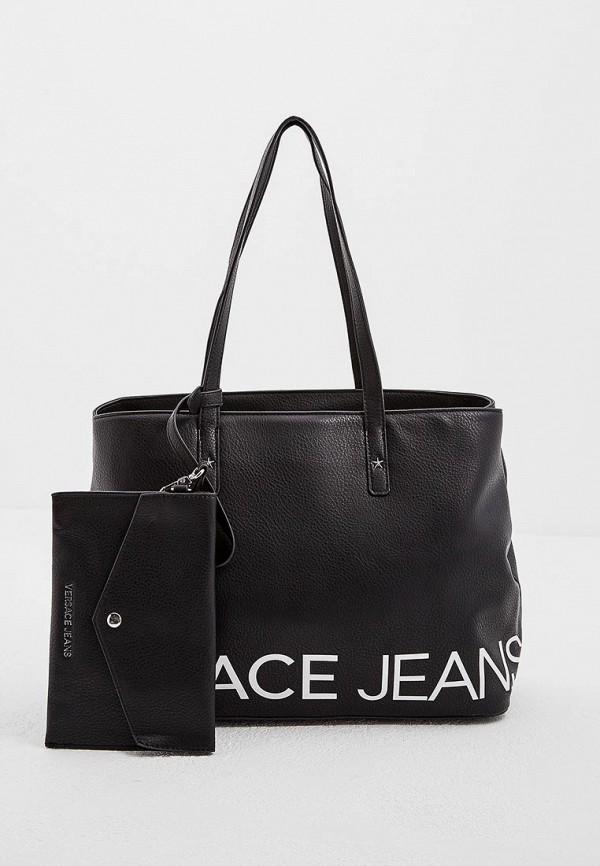 Сумка Versace Jeans Versace Jeans VE006BWBVAJ8 сумка versace jeans versace jeans ve006bwzic03