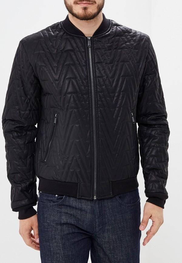 мужская куртка versace, черная