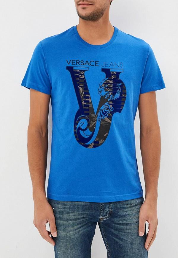 Футболка Versace Jeans Versace Jeans VE006EMBVAR9 цена и фото